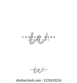 w signature logo