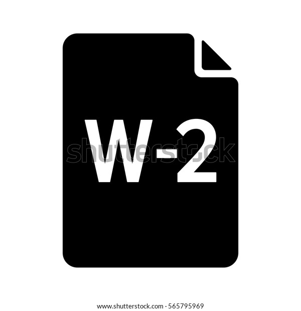 W2 W2 Irs Tax Form Document Stock Vector (Royalty Free