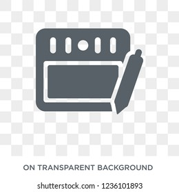 Wacom icon. Trendy flat vector Wacom icon on transparent background from hardware collection.