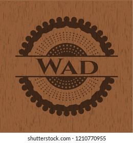 Wad wood emblem