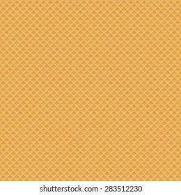 Wafer seamless texture background, eps 10