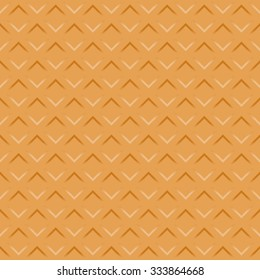 Wafer seamless texture background. Pattern Vector illustration