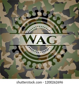 Wag on camo pattern