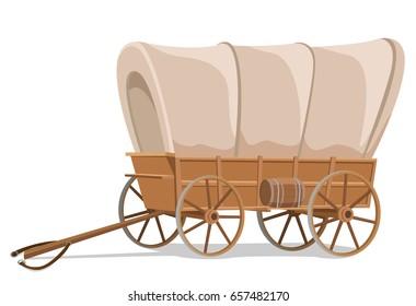 Wagon wild west style