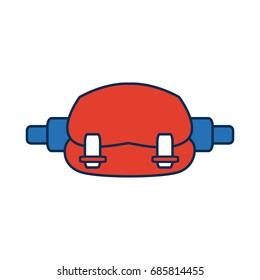 waist sport bag accessory sign