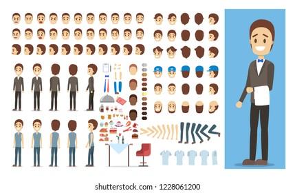 Waiter Cartoons Images, Stock Photos & Vectors | Shutterstock