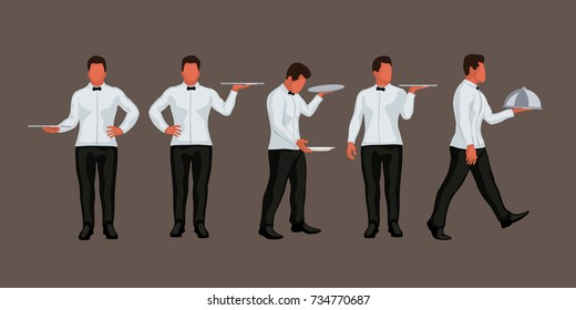 waiter in set