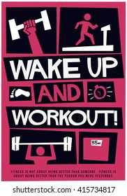 Gym Poster Images, Stock Photos & Vectors | Shutterstock