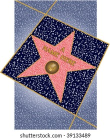 Walk of Fame star radio in perspective