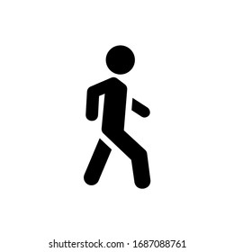 Walk icon symbol vector illustration