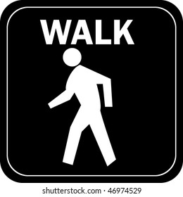 Image result for walk sign