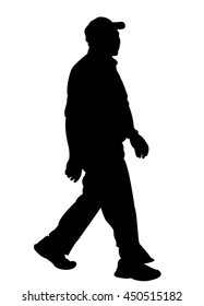 Old Man Silhouette Images Stock Photos Amp Vectors