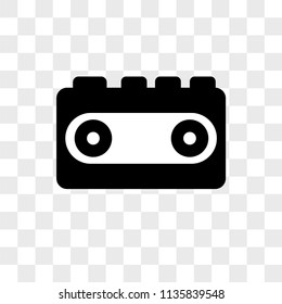 Walkman vector icon on transparent background, Walkman icon