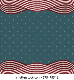 wall background american icon, vector illustration image
