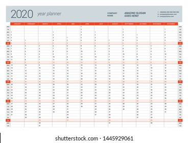 graphic relating to Yearly Planner Template known as Yr Planner Photographs, Inventory Visuals Vectors Shutterstock
