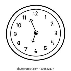Clock Drawing   Bruin Blog