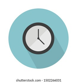 wall clock flat icon - From web, universal and Miscellaneous Icons set