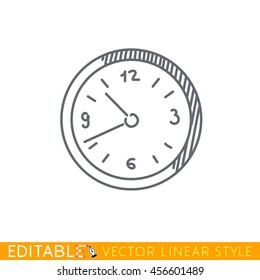 Clock Drawing Wall Images, Stock Photos & Vectors | Shutterstock