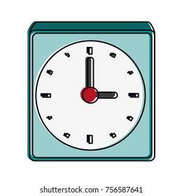 wall clock isolated