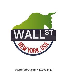 wall street new york bull