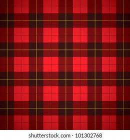 Wallace tartan Scottish plaid Background