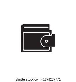 Wallet Purse Icon Design Vector Template