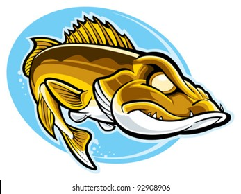 walleye images stock photos vectors shutterstock rh shutterstock com walleye clip art free downloads microsoft walleye clip art free