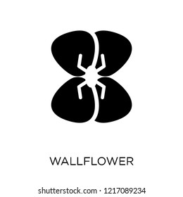 Wallflower icon. Wallflower symbol design from Nature collection. Simple element vector illustration on white background.
