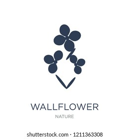 Wallflower icon. Trendy flat vector Wallflower icon on white background from nature collection, vector illustration can be use for web and mobile, eps10