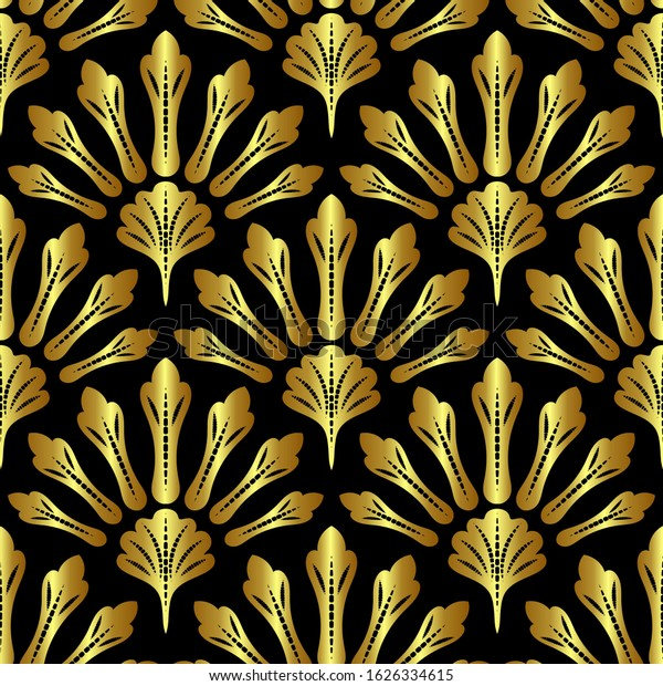 Wallpapers Art Deco Style Vector Abstract Stock Vector (Royalty ...