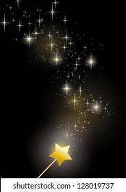 wand fairy sparkles