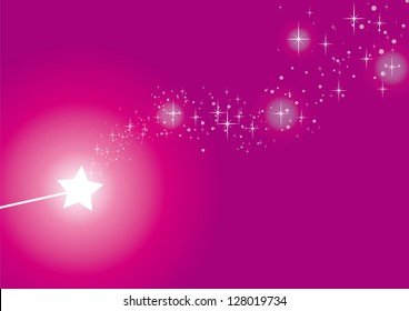 wand pink sparkles