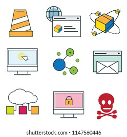 Wannacry ransomware attack was a May 2017 worldwide cyber attack by the WannaCry ransomware cryptoworm of icon set vector wannacry icon vector