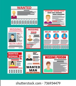 Missing Poster Images Stock Photos Vectors Shutterstock