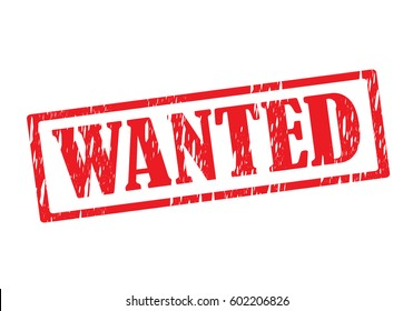 wanted vector stamp icon logo sign