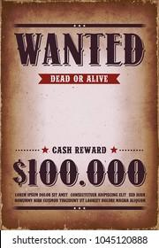 Reward Poster Stock Vectors Images Vector Art Shutterstock