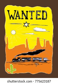 Wanted in the wild west