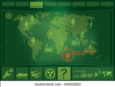 war game interface technology
