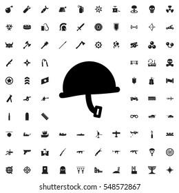 war helmet icon illustration isolated vector sign symbol