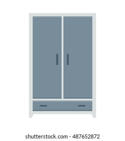 Wardrobe Vector Icon