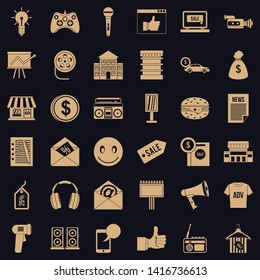 Ware icons set. Simple set of 36 ware vector icons for web for any design