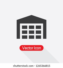 Warehouse Icon Vector Illustration Eps10