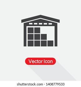 Warehouse Icon Vector Illustration Eps10