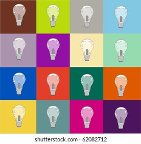warhol light bulbs