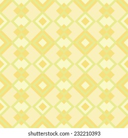 Warm geometric pattern. Seamless vector background.