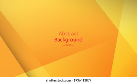 warm and orange color background abstract art vector