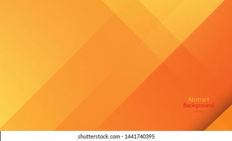 Warm tone and Orange color background abstract art vector - Shutterstock ID 1441740395