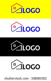 Warming houses, logo graphic