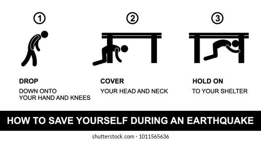 warning, caution, earthquake