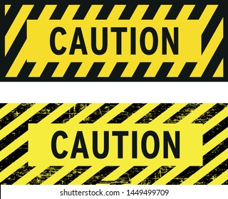 warning or caution vector icon